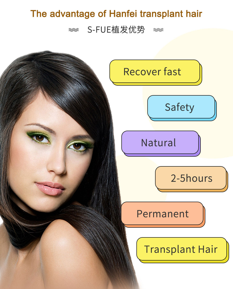 advantages of hanfei s-fue hair transplant